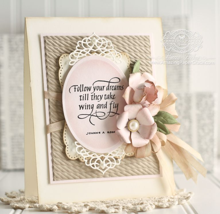 Awesome Card Making Ideas Using Embossing Folders Part - 4: Pinterest