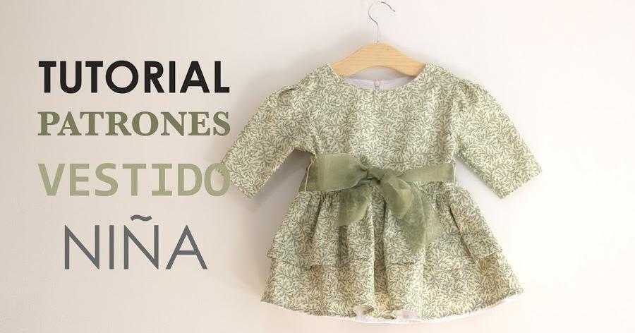 Tutoriales de costura: cómo hacer un vestido para niña | ropa para ...