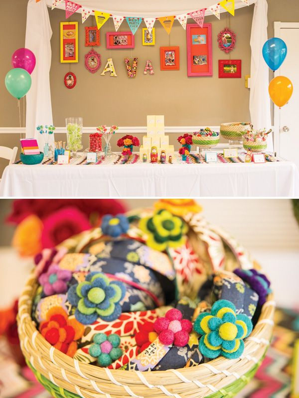 Playful Nesting Doll Party Theme