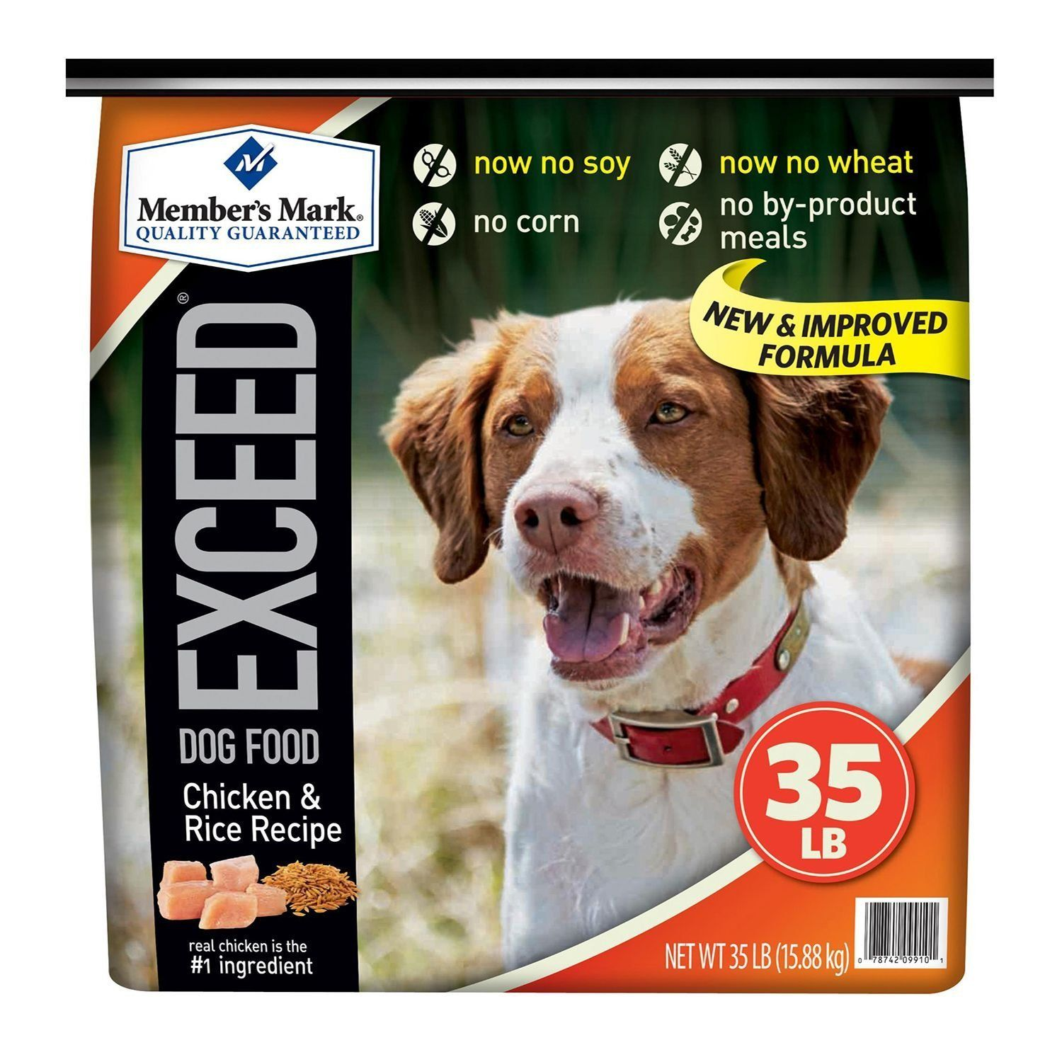 Member's Mark Exceed Dog Food, Chicken and Rice (35 lbs