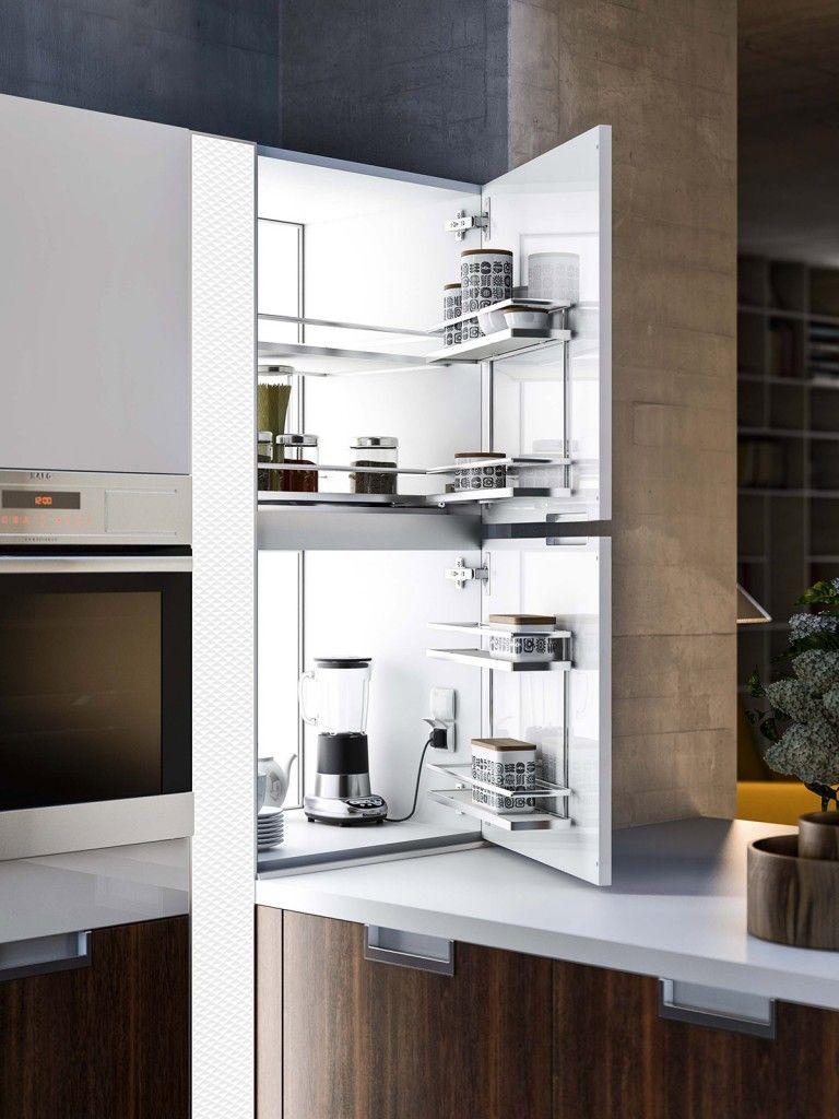 Cucina: le soluzioni per l\'angolo   elettrodomestici ...