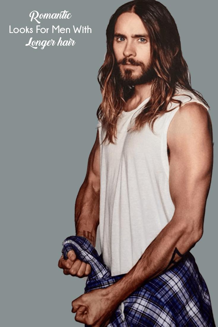 Romantic Looks For Men With Longer Hair  Menus fashion Men stuff