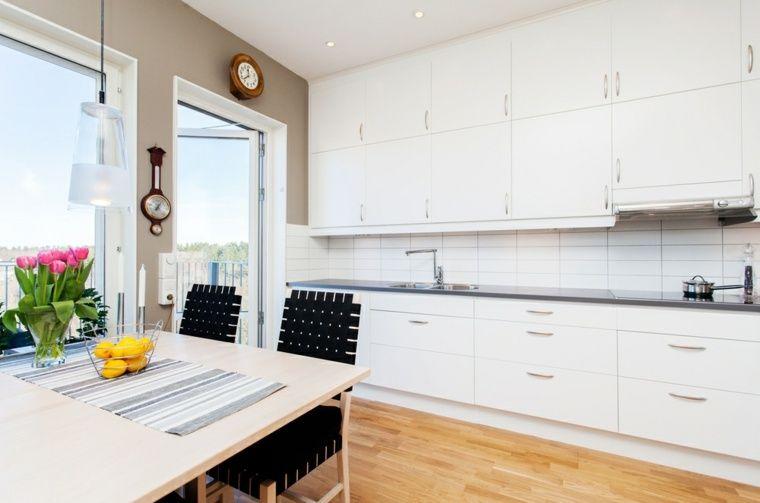 image de cuisine moderne en blanc