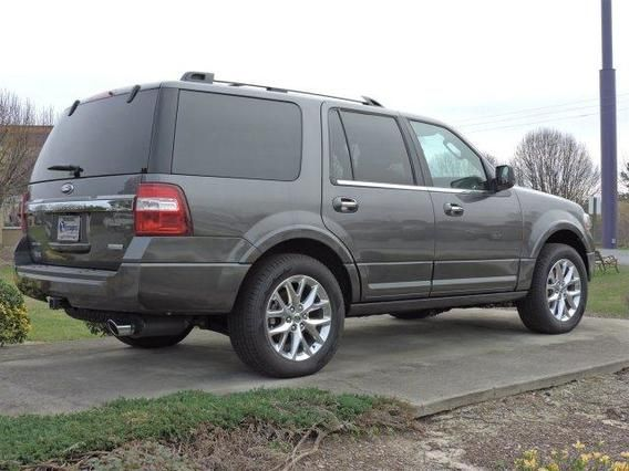 2015 Ford Expedition Limited Magnetic Grey With Images Ford