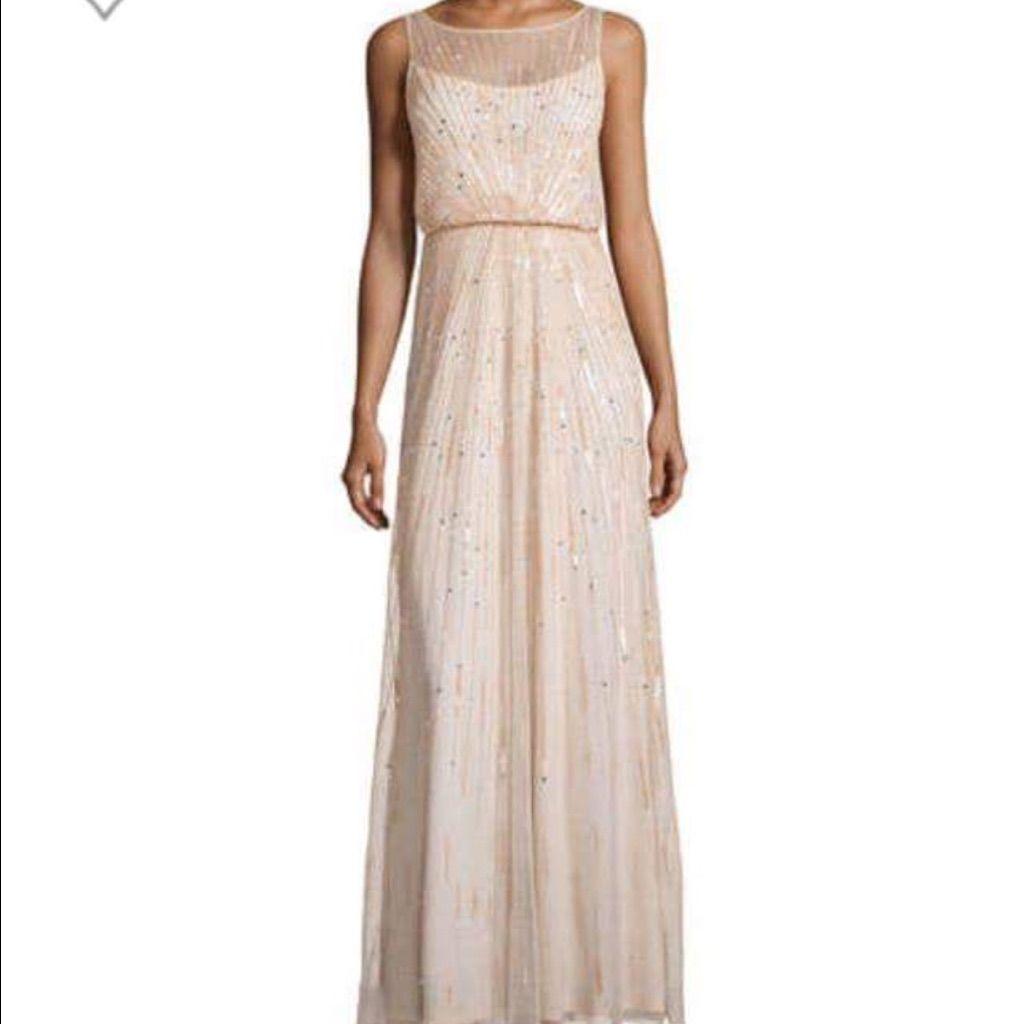 Aidan Mattox Dark Blue Gown Jovani Style Dress | Aidan mattox and ...