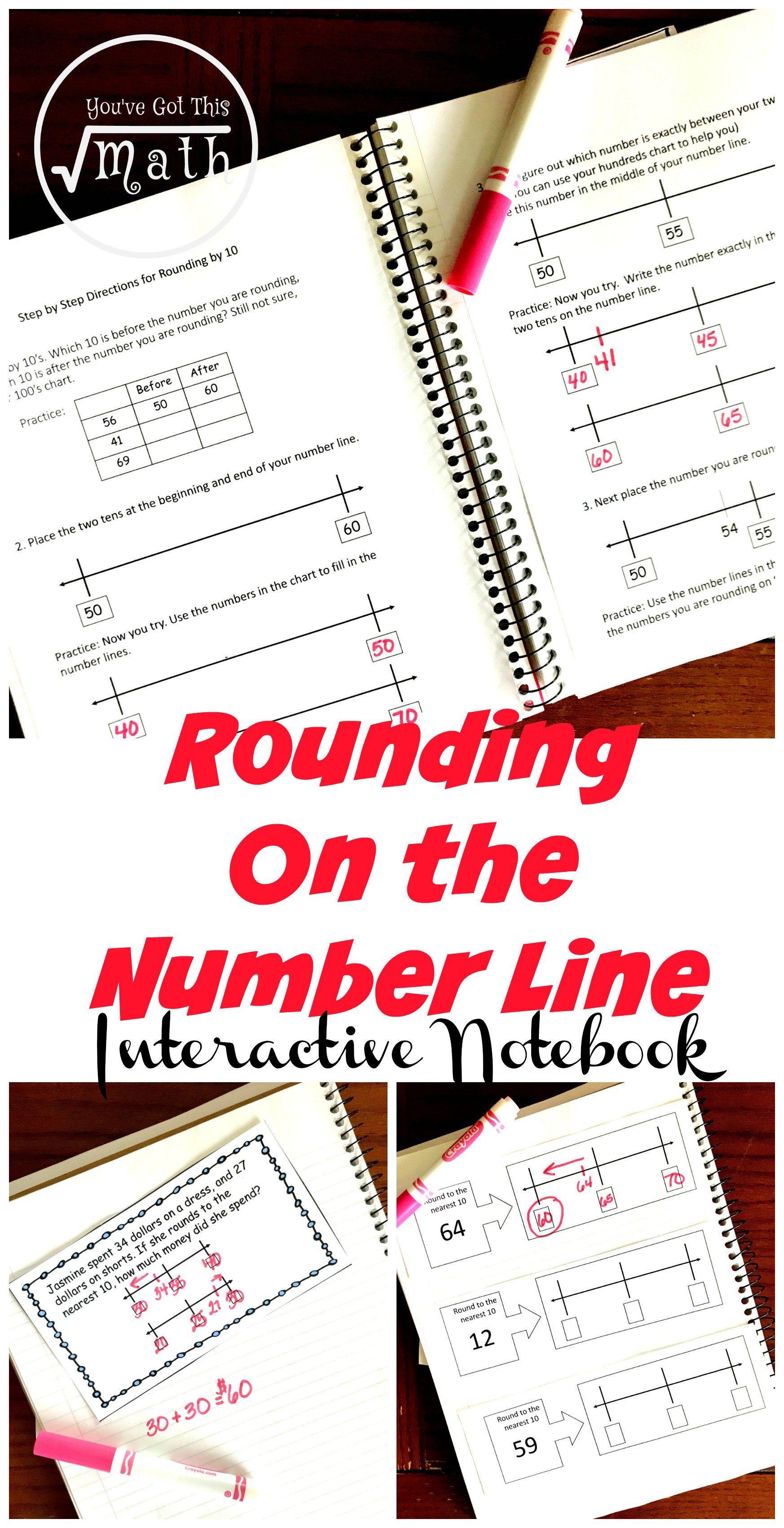 3 Interactive Notebook Activities For Rounding To Ten With