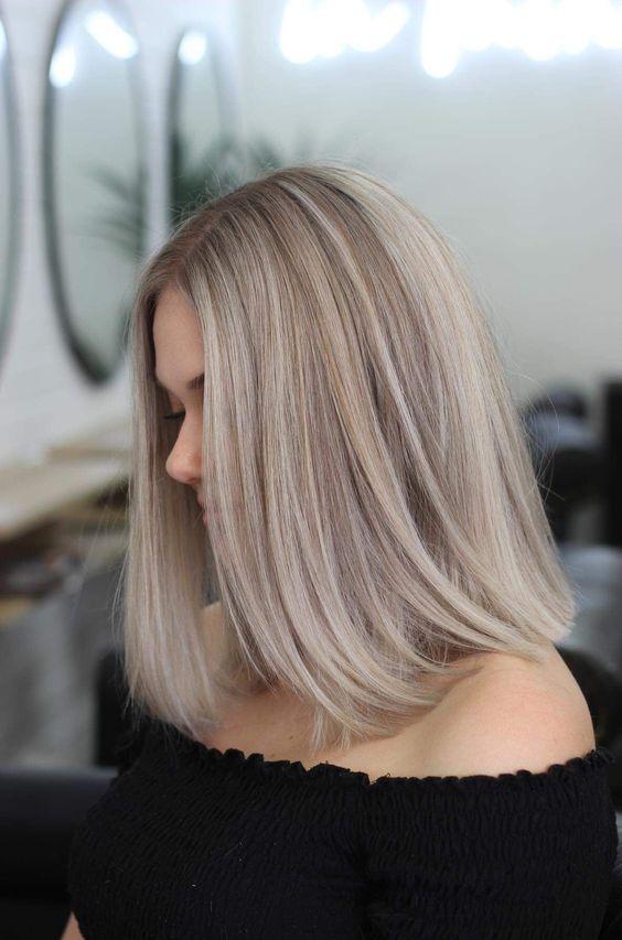 Модные оттенки блонда для светлых волос - 200 фото ...