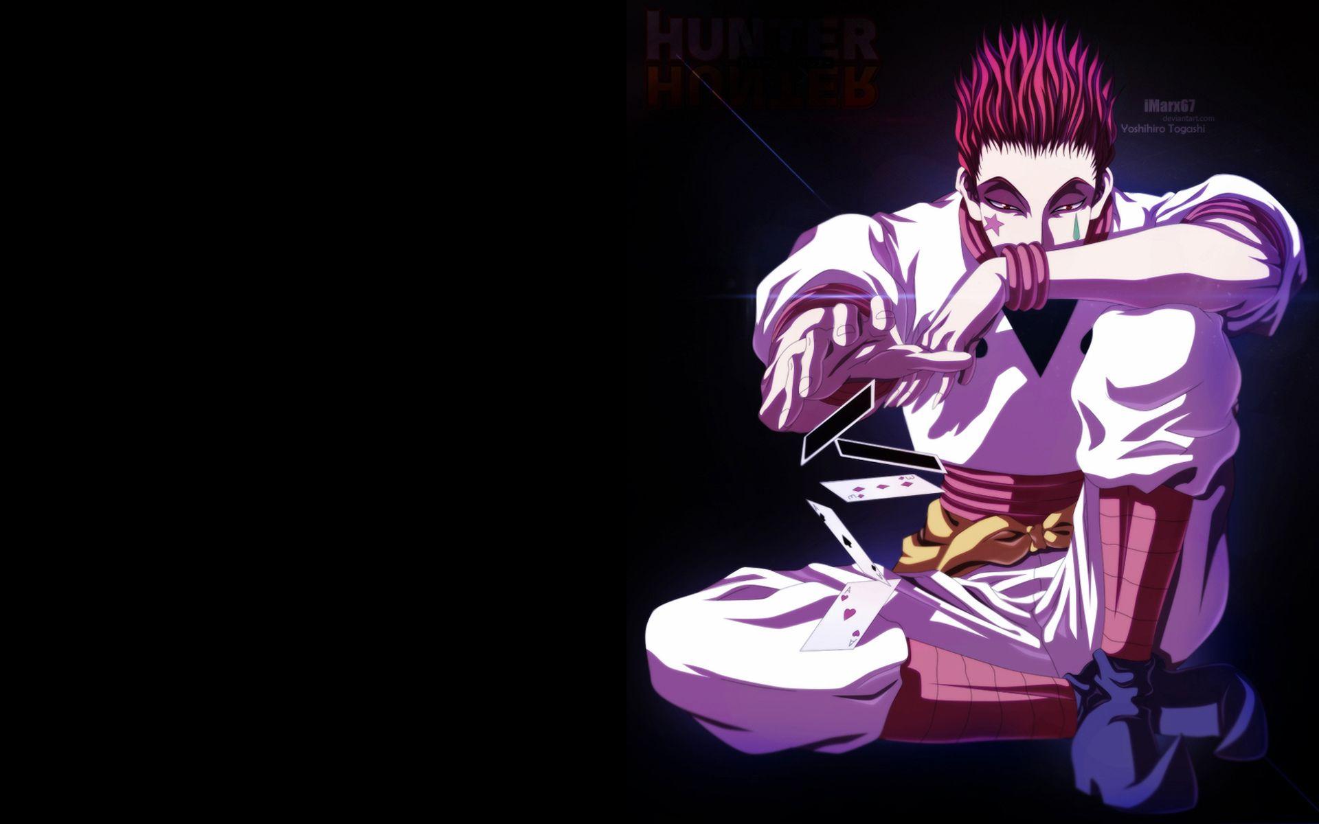 Hunter X Hunter Hisoka Wallpaper Widescreen Gos Hisoka Hunter Anime Hunter X Hunter
