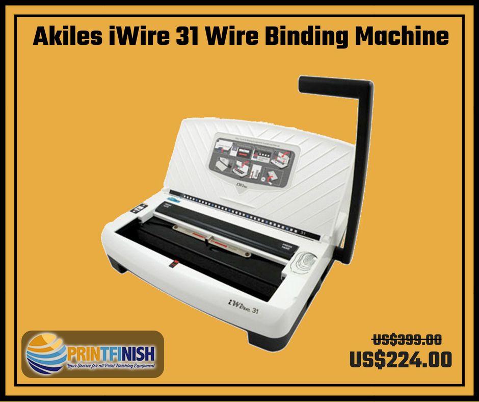 IWire 31 Akiles Wire Binding Machine