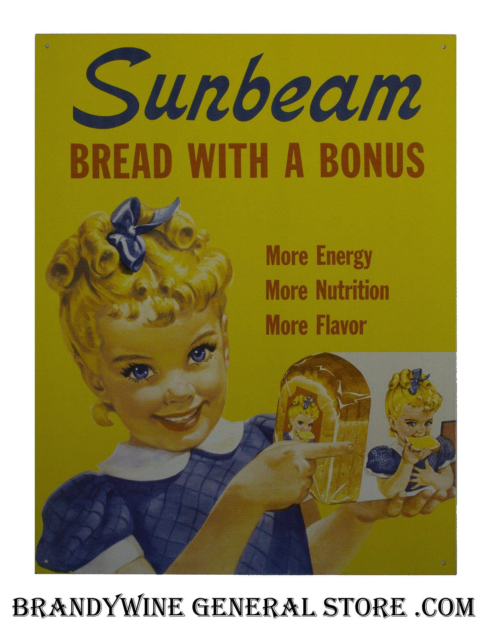 Little Miss Sunbeam Pub Sign Vintage tin signs, Vintage