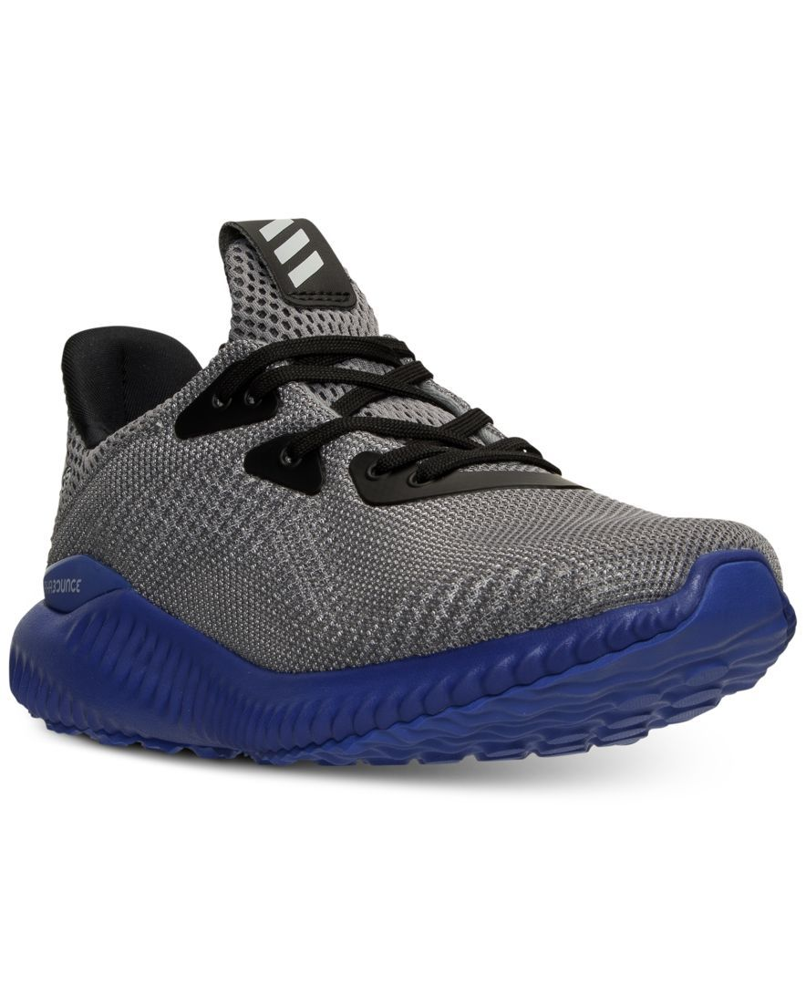 pick up 8eb0b 10044 adidas Boys  Alpha Bounce Running Sneakers from Finish Line