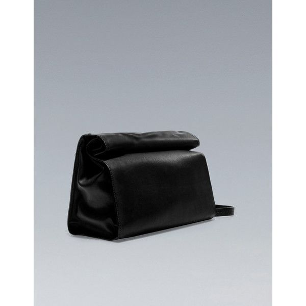 Zara Basic Messenger Bag ($36) ❤ liked on Polyvore