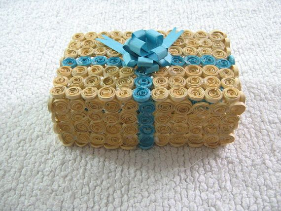 Handmade Decorative Boxes Magnificent Handmade Quilled Box  World Of Quilling  Pinterest  Decorative Design Ideas