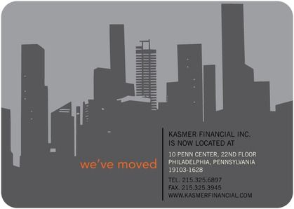we ve moved moving announcement tiny prints new skyline