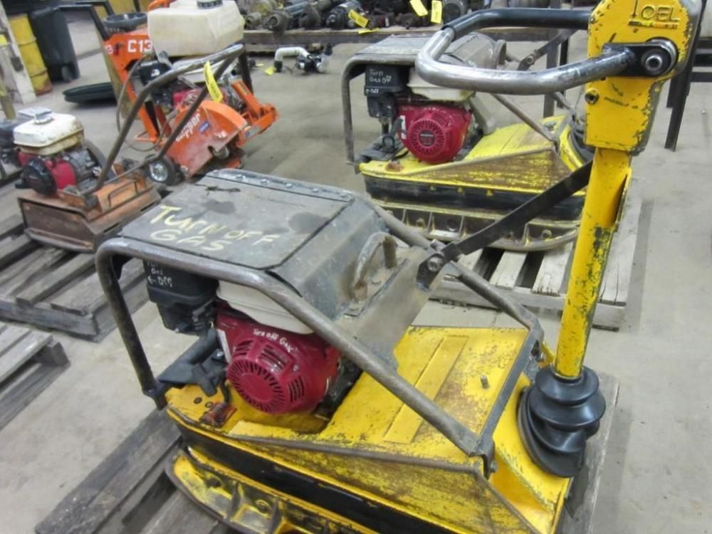 Wacker Hand Compactor ONLINE ONLY AUCTION Ending March