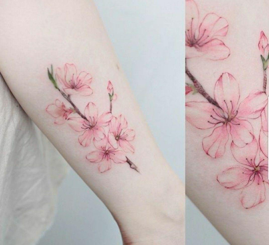 Pin By Sharayah Morgan On The One Day Tatouage Fleur Tatouage