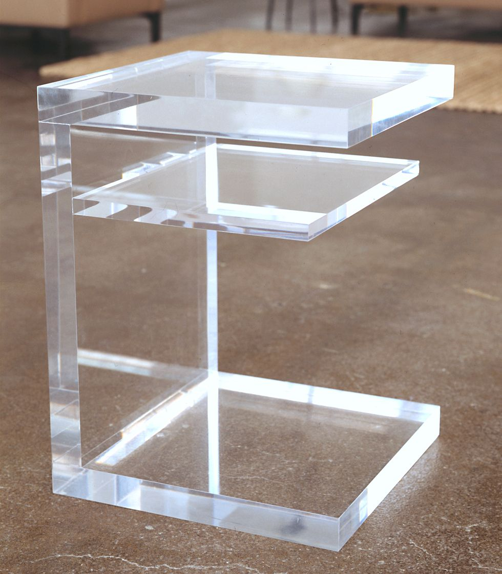 S2 Lucite Side Table | ROOM | Side table, Acrylic table ...