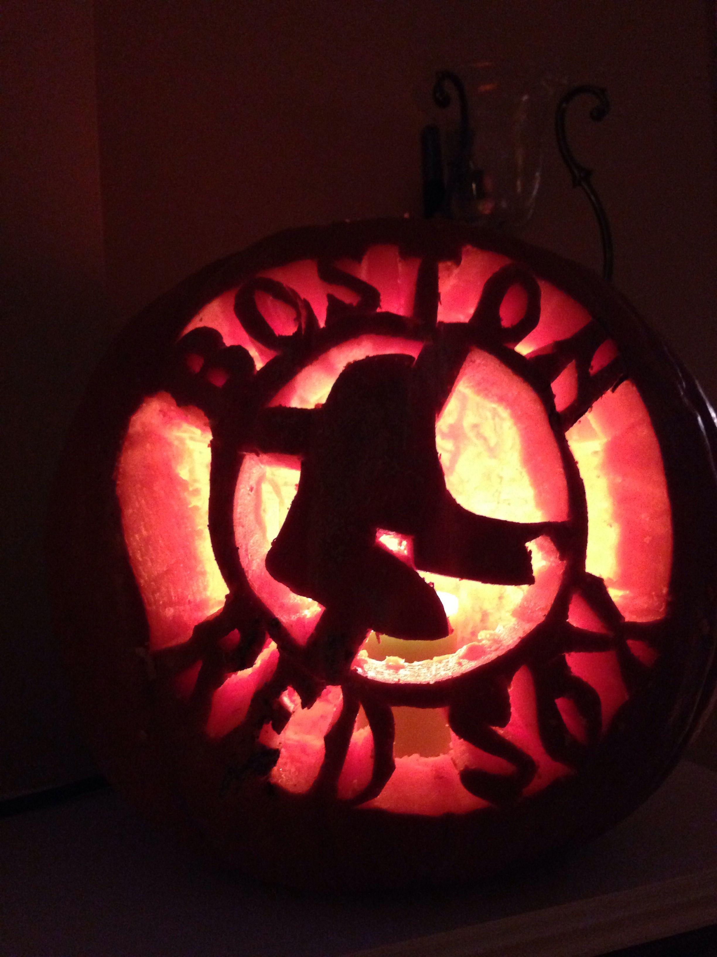 Boston Red Sox Pumpkin Carving Sports Pinterest Pumpkin