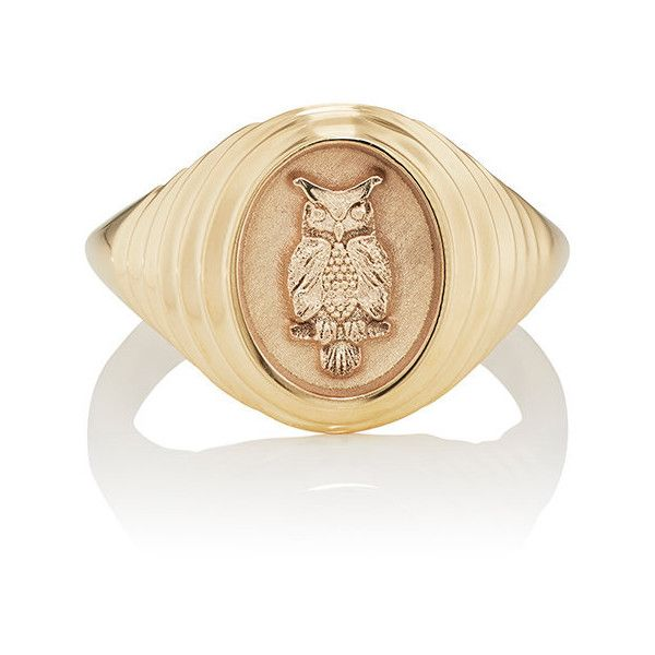 Retrouvai Womens Tiered Fantasy Signet Ring tiff6D