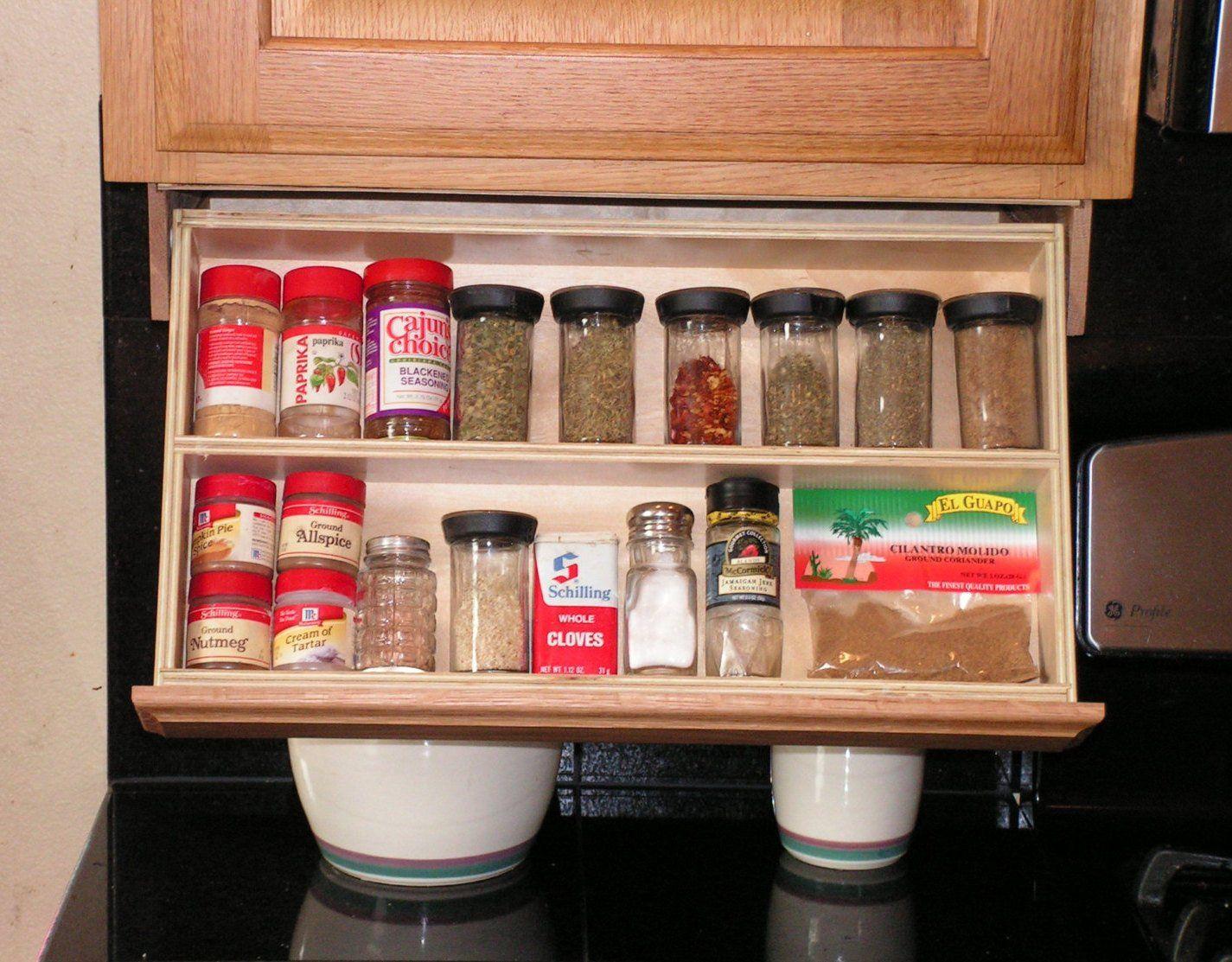 Under Cabinet Spice Rack Cabinet Spice Rack Cabinet Under Cabinet