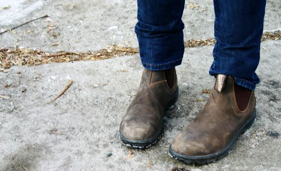 The Sydney Chronicles Chelsea Boots Outfit Fall Boots Outfit Blundstone Boots