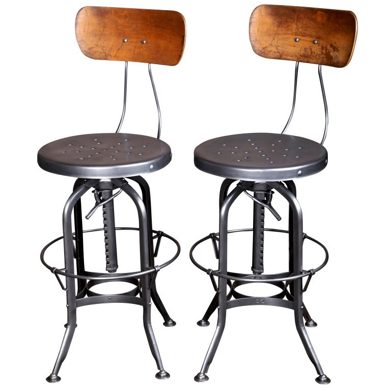 Good Original, Vintage Industrial, American Made, Toledo Bar Stools | From A  Unique Collection Of Antique And Modern Stools At Http://www.1stdibs.com/fuu2026