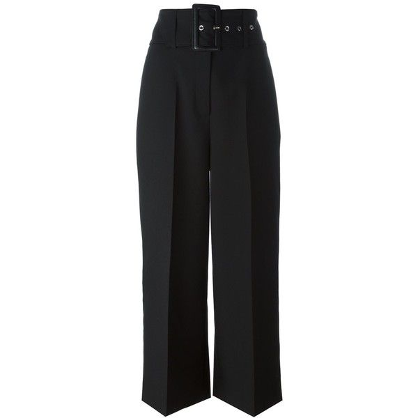 wide leg tailored trousers - Black Givenchy