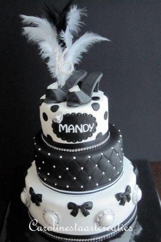 Sweet 16 Taart Mandy Caroline S Taarten Sweet Sixteen