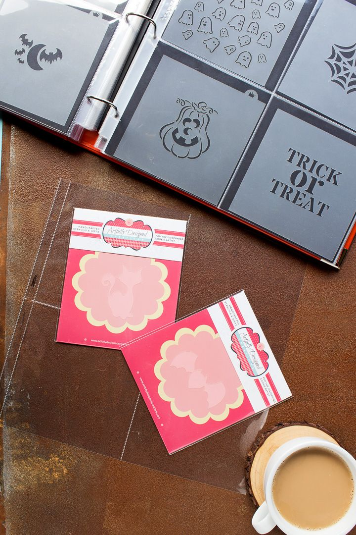 How to Organize Your Cookie Stencils | The Bearfoo