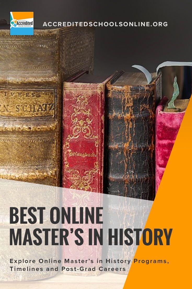 Best Online Master's in History