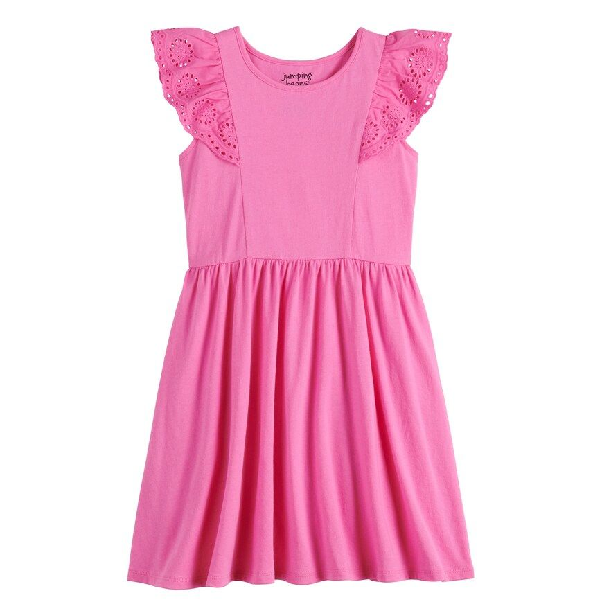 Girls 4-12 Jumping Beans® Flutter Skater Dress