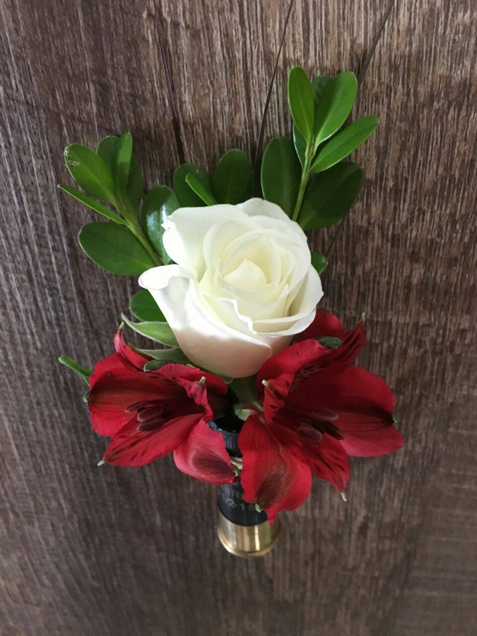 For the hunter going to boutonniere made from