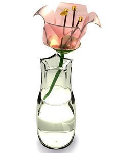 how to make fake water for faux flower arrangements. Definitely a money saver, I don't know why they are so expensive!