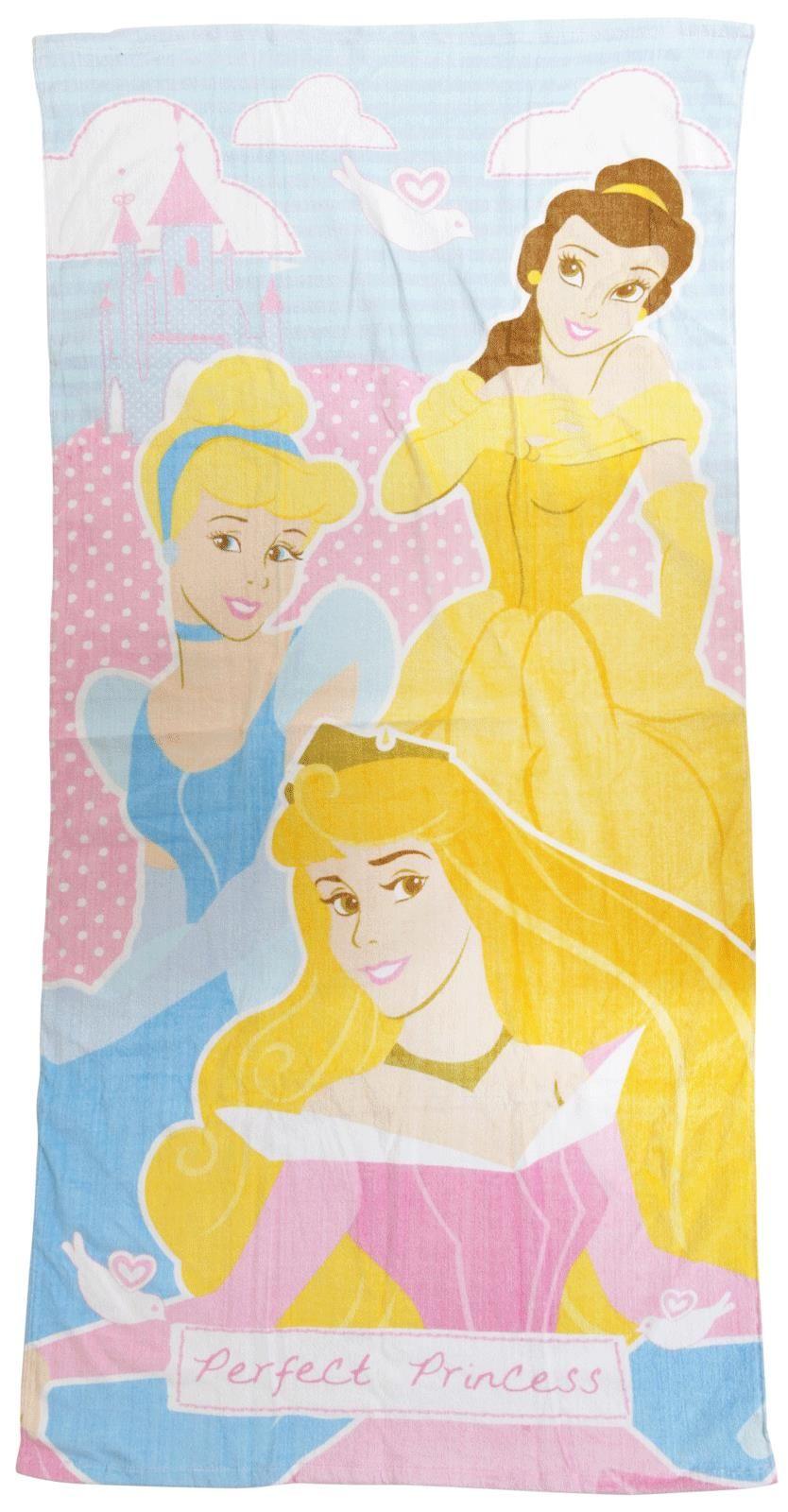 Princess Perfect Princess Beach Bath Towel | Beach and Bath Towels ...