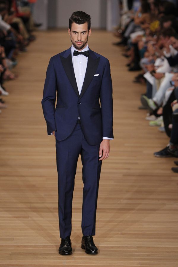 Midnight blue with one button | Dressed to the Nines | Pinterest ...