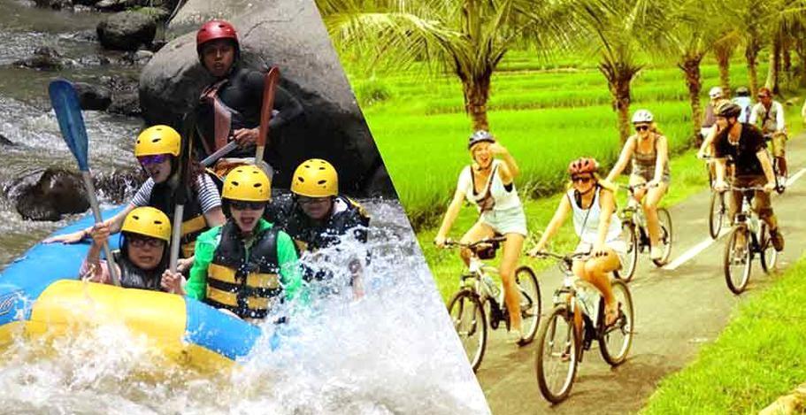 Ayung River Rafting Ubud Cycling Tour Ayung River Rafting Package In 2020 Cycling Tour River Rafting Rafting