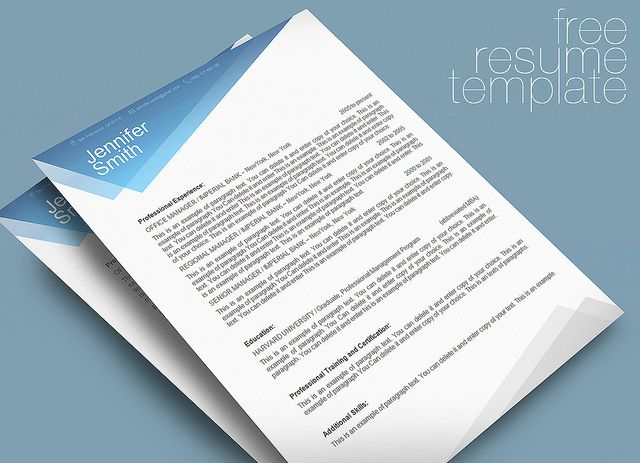FREE Resume Template - Premium line of Resume  Cover Letter - apple pages resume templates