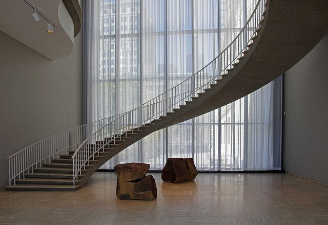 Staircase as art - Art Institute of Chicago