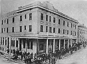 Garrett Hotel El Dorado Arkansas During The Oil Boom Days