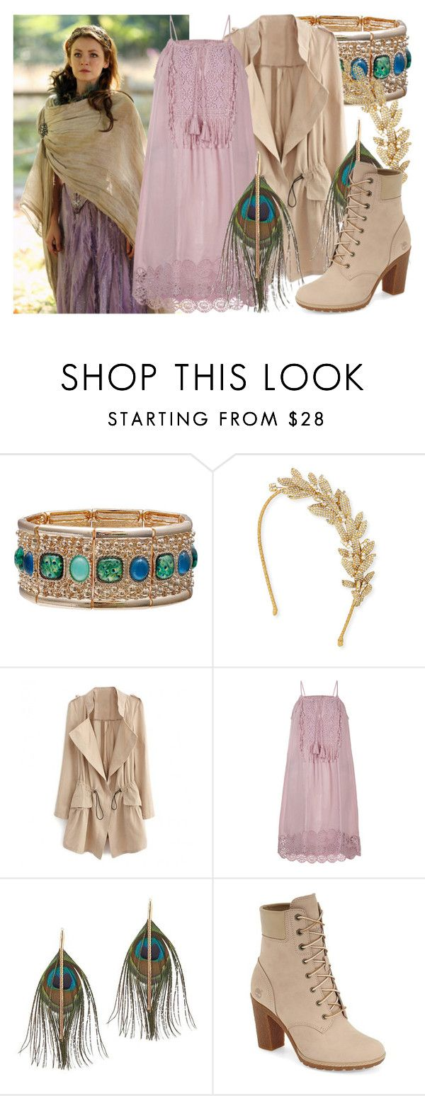 """""""Aurora - OUAT"""" by fabulousgurl ❤ liked on Polyvore featuring Mixit, Jennifer Behr, Once Upon a Time, Monsoon, Serefina, Timberland, sleepingbeauty, onceuponatime and disneybound"""