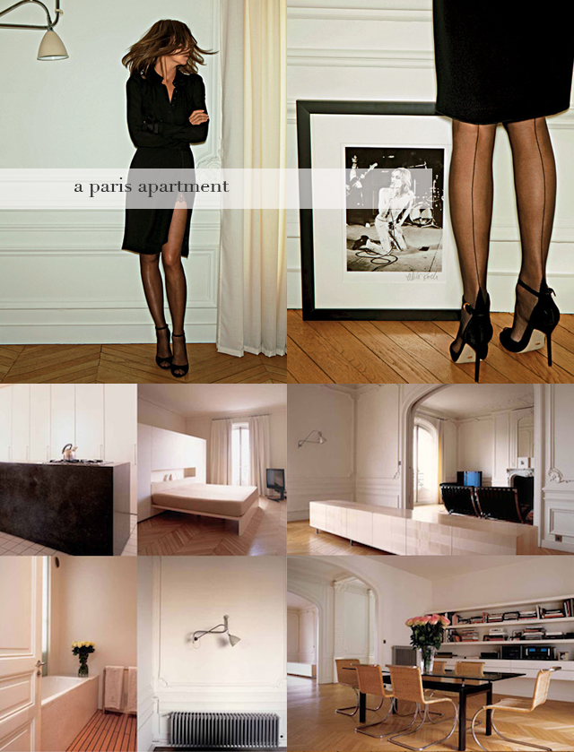 carine roitfeld's apartment.