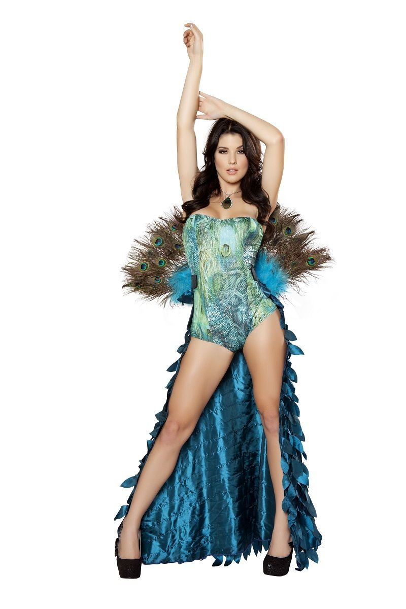 pretty woman dresses made in usa | Deluxe Pretty Peacock Women Halloween Costume  sc 1 st  Pinterest & Adult Deluxe Pretty Peacock Women Costume | Pinterest | Woman ...