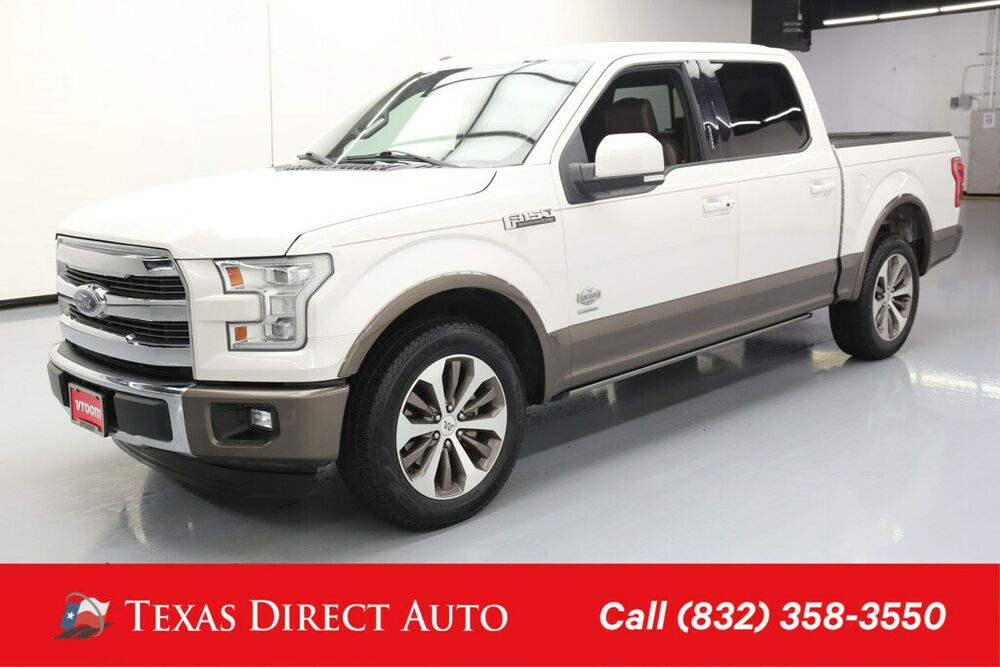 Ebay Advertisement 2016 Ford F 150 4x2 King Ranch 4dr Supercrew
