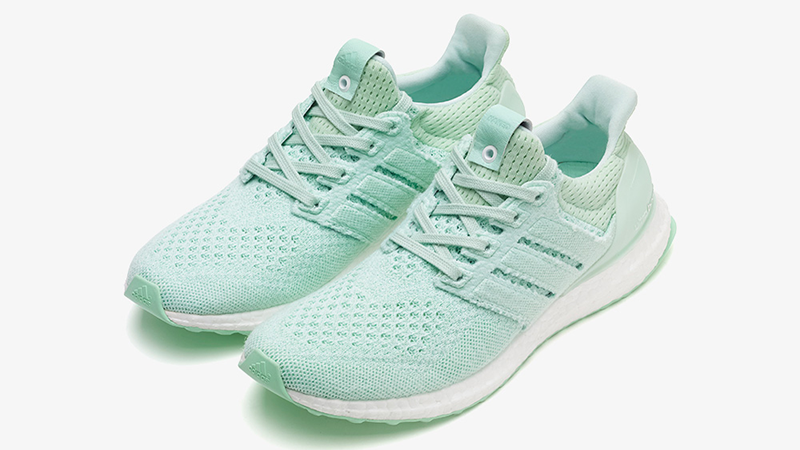 52c527bfbfb4 ADIDAS X NAKED ULTRA BOOST MINT GREEN PANTONE WHITE BB1141 adidas   adidasshoes  adidassneakers