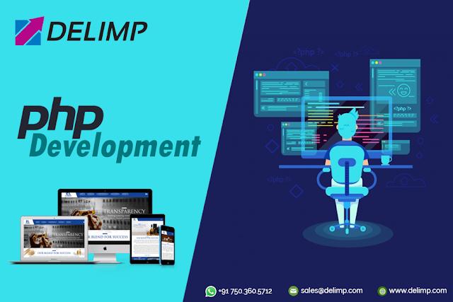 Benefits Of Php Web Development Services Delimp Technology Website Development Company Web Development Development