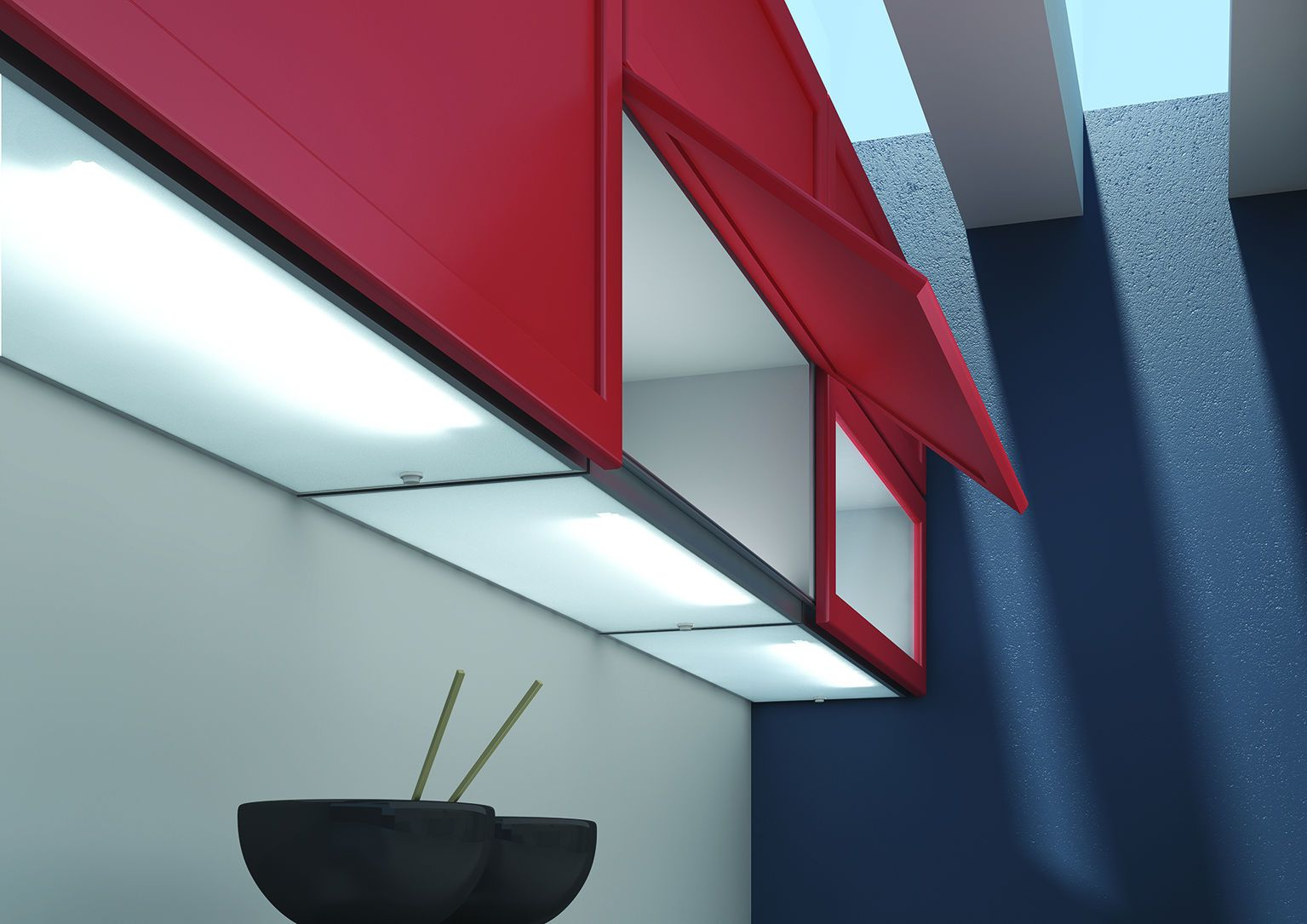 LEDs 10 uses in Architecture   Kitchens, Fluorescent kitchen lights ...
