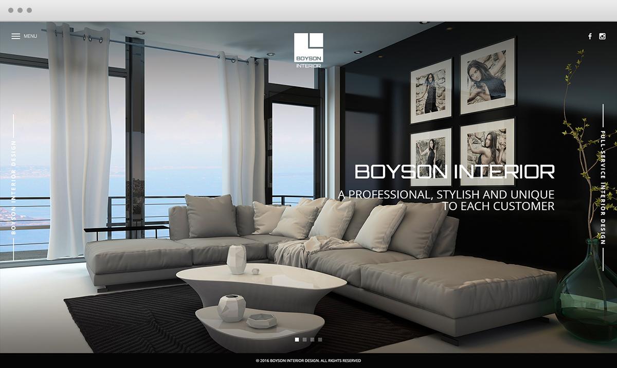 Merveilleux Web Design   Boyson Interior Is A Hong Kong Based Interior Design Company.  The Professional
