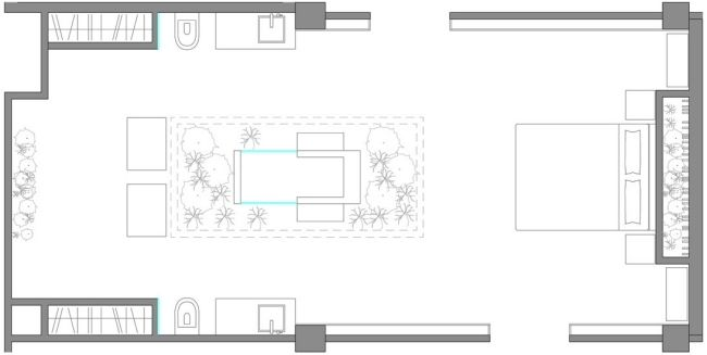 architekturplan oberblick garten eden modernes designer schlafzimmer ...
