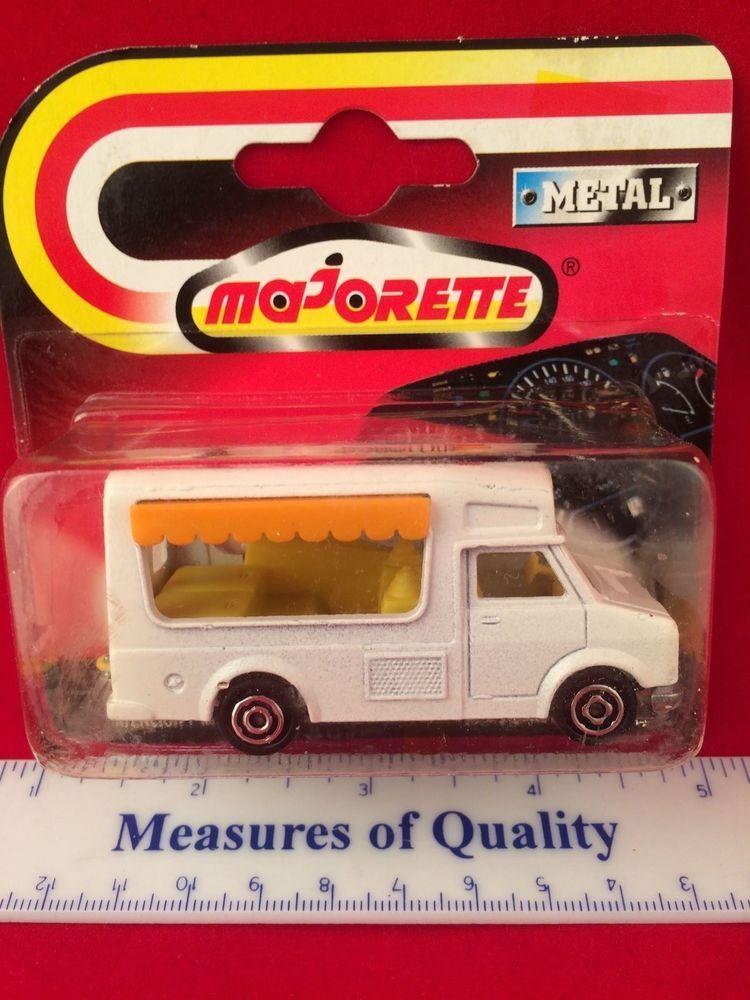 Majorette Ice Cream Truck Fourgon Mip 1 64 Yellow Awning Van 259 Die Cast Car 14 99 Free Shipping Mip Majorette Hot Wheels Garage Diecast