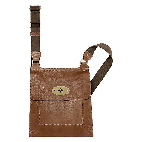 Buy Mulberry Antony Messenger Across Body Bag Online at johnlewis ... 083b3058f163c